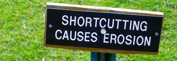 shortcutting